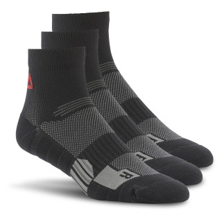 Reebok ONE Series Training Ankle Sock - 3-pack Black AO2044
