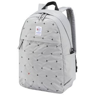 Classic Graphic Backpack Solid Grey CW5009