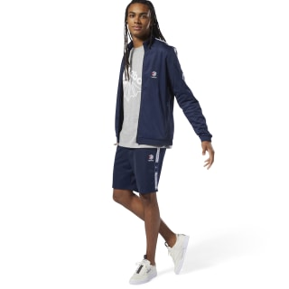 Classics Taped Track Shorts Collegiate Navy DT8151