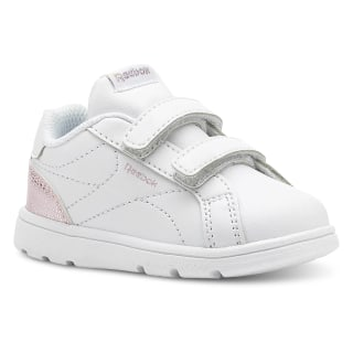 Reebok Royal Complete Clean – Infant & Toddler Pastel-White/Practical Pink/Silver CN5067