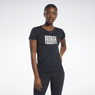ACTIVCHILL Graphic Tee Black FJ2903