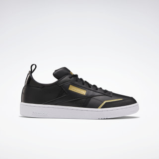 Club C Ree:Dux Shoes Black / White / Gold Met. FV3215