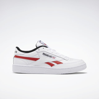 Club C Revenge Shoes White / Black / Legacy Red EF3220