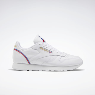 Classic Leather Shoes White / Radiant Red / Blue Blast FW4794