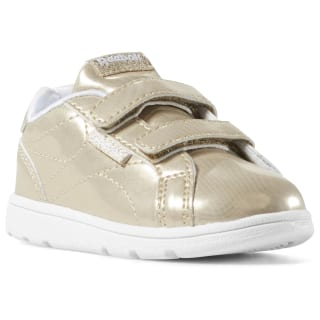Reebok Royal Complete Clean 2V Gold Sparkle / White DV4144