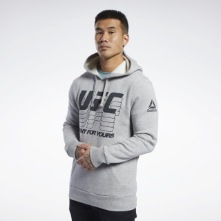 Худи UFC FG Medium Grey Heather FK2342