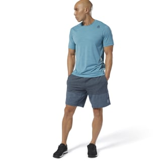 Reebok CrossFit® MyoKnit Shorts Blue Hills/Black DP4570
