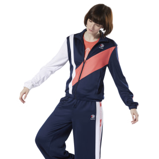 Giacca Classics Track Top Collegiate Navy DT7262