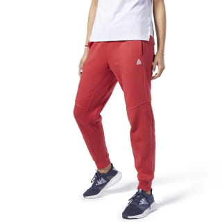 Training Essentials Linear Logo Pants Rebel Red FI2043