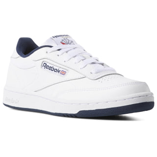 Club C – Grade School White / Navy DV4539
