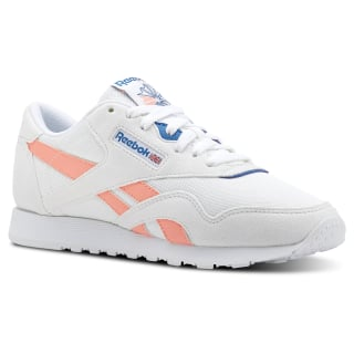 Classic Leather Nylon Retro-White/Digital Pink/Instince Blue CN2966