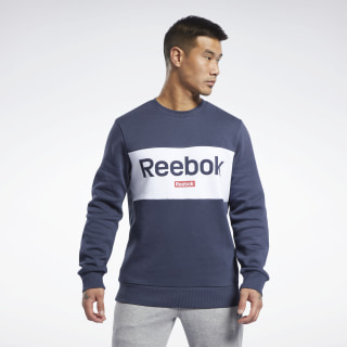Training Essentials Linear Logo Sweatshirt Heritage Navy FR8130