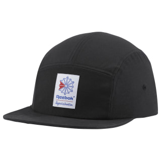 Czapka z daszkiem Classics Foundation 5 Panel Black CV5720