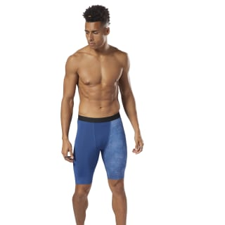 Reebok CrossFit Compression Shorts Bunker Blue CY4974
