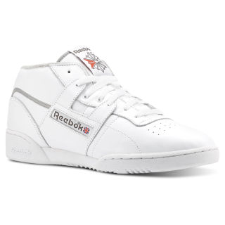 Workout Clean Mid Archive-White/Carbon/Grey/Red CN3639