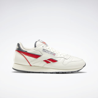 Classic Leather Chalk / Radiant Red / True Grey 7 EG6415