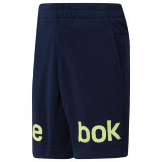 Boy's Workout Ready French Terry Shorts Collegiate Navy CF4282