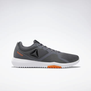 Reebok Flexagon Force Cold Grey 6 / Fiery Orange / White DV9432