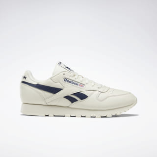 Classic Leather Shoes Chalk / Paperwhite / Coll Navy DV9695