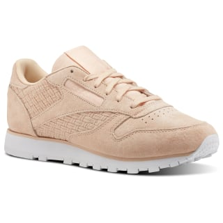 Classic Leather Woven EMB Pink / Desert Dust / White BT0004