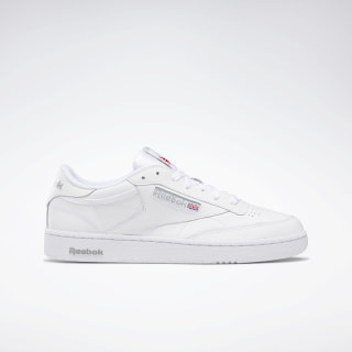 Club C 85 White / Sheer Grey AR0455