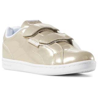 Reebok Royal Complete Clean 2V Gold Sparkle / White DV4143