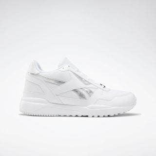 Reebok Royal Bridge 2.0 Shoes White / White / Silver Metalic DV8973
