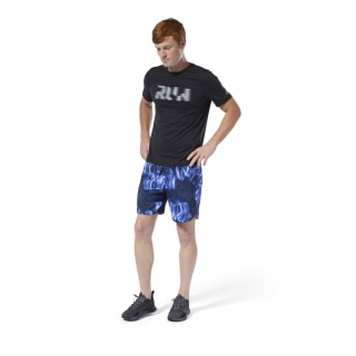 Run Essentials 7-Inch Shorts Crushed Cobalt DP6724