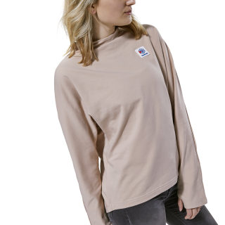 Classics Advanced Mock Neck Crew bare beige DH1260