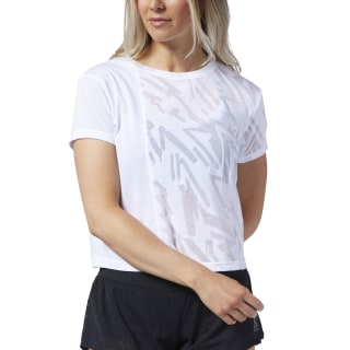 Reebok CrossFit® Burnout Tee White EC1420