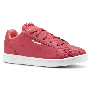 Tenis Reebok Royal Complete CLN - Pre escolar y Primaria RUGGED ROSE/VICTORY PINK/WHITE CN4806