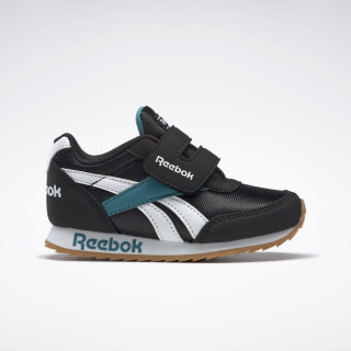 Reebok Royal Classic Jogger 2.0 Shoes Black / Seaport Teal Mel / White FW4853