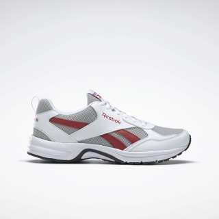 Reebok Run Pheehan 5.0 Shoes Pure Grey 3 / Excellent Red / White FV4293