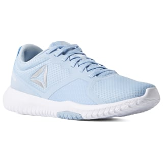 Zapatillas Reebok Flexagon Force denim glow / white / silver / skull grey CN6532