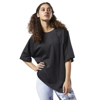 Perforated Cover-Up Black EC1124