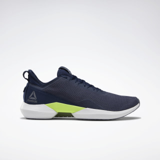 Reebok Interrupted Sole Heritage Navy / Collegiate Navy / Solar Yellow DV9501