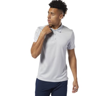 WOR Striped Polo Shirt Cold Grey 2 DU2189
