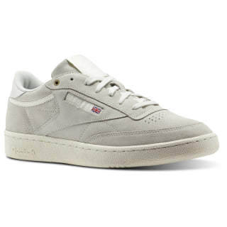Reebok Club C 85 Montana Cans collaboration Grey / Pebble / Chalk CM9296