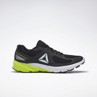Reebok Premiere Road Shoes Black / White / Solar Yellow EG5316