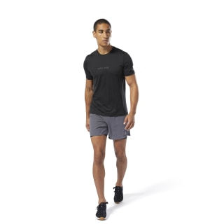Running Elevated Tee Black DU4313