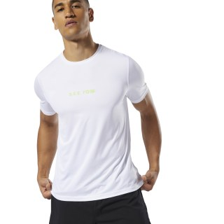 Running Elevated Tee White DP6748