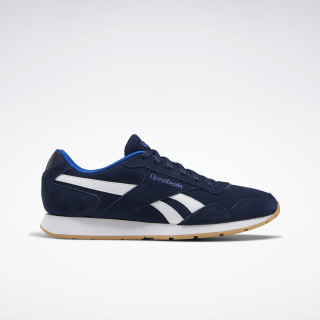 Reebok Royal Glide Shoes Collegiate Navy / Humble Blue / White EG9395