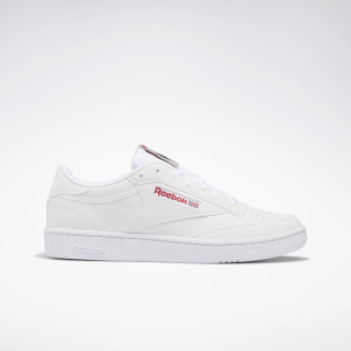 Club Classic 85 Shoes White / SKULL GREY / RED / BLK DV7240