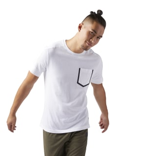 T-shirt Training Supply Move White CF3724