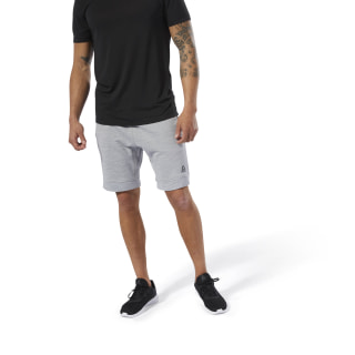 Training Essentials Marble Group Shorts Skull Grey DU8280