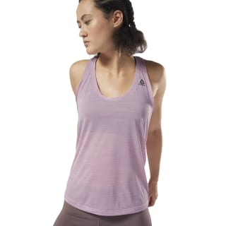 Camiseta sin mangas Workout Ready ACTIVChill Infused Lilac D95084