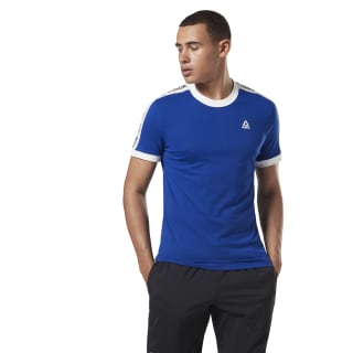 T-shirt Training Essentials Linear Logo Cobalt FI1931