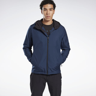 Спортивная куртка на флисовой подкладке Outdoor Blue/collegiate navy GD3641