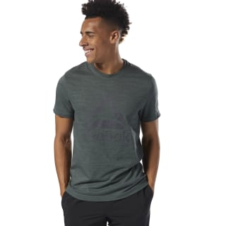 Elements Marble Mélange Tee Chalk Green D94169