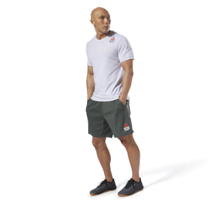 Reebok CrossFit Move Tee - Games Light Grey Heather CY6129